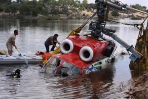 Muğla Helikopter Enkaz çalışmaları