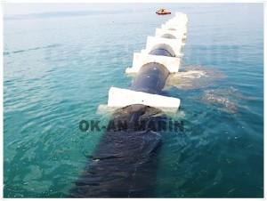 Deniz Şarj Deşarj Hatları Döşenmesi Çalışmaları...