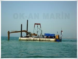 Deniz Şarj-Deşarj Hattı Döşeme  Çalışmaları